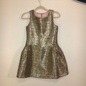 Cat & Jack Gold Sparkly Dress for Girls